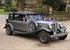 Vintage bröllop bil