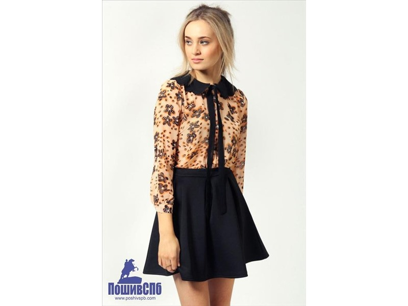Купить в розницу блузки в спб